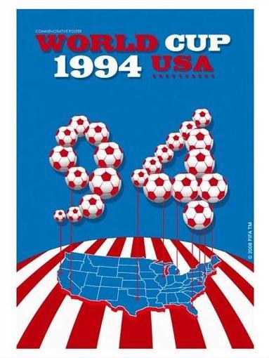 Альтернативный плакат Чемпионата мира по футболу 1994 года в США, фото footballfan.net.ua
