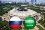 Матч-открытие Россия-Саудовская Аравия