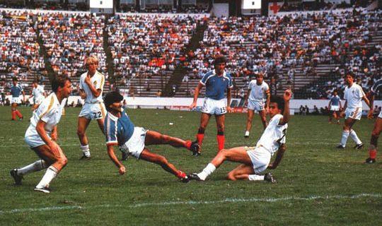 Матч за 3-е место ЧМ-1986