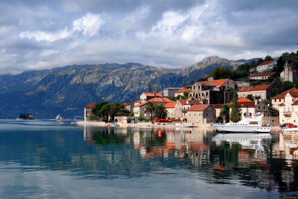 Черногория, вид с воды