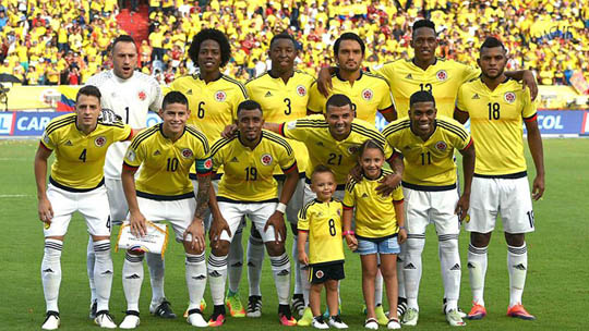 Сборная команда Колумбии