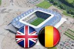 Матч Англия - Бельгия