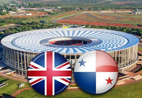 Матч Англия - Панама