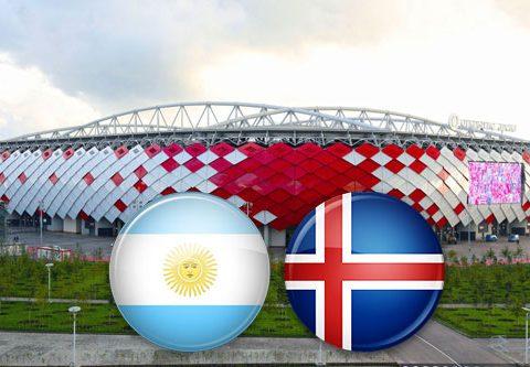 Матч Аргентина - Исландия