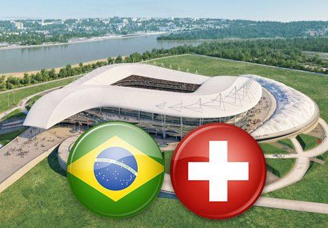 Матч Бразилия - Швейцария