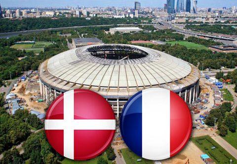Матч Дания - Франция