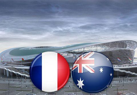 Матч Франция - Австралия