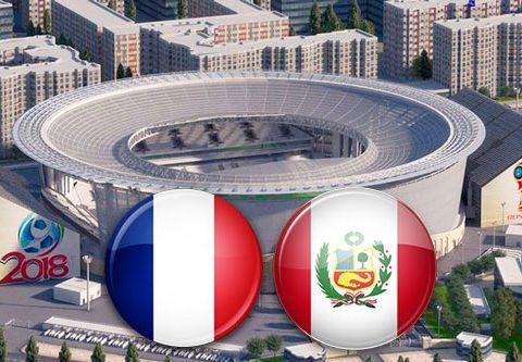 Матч Франция - Перу