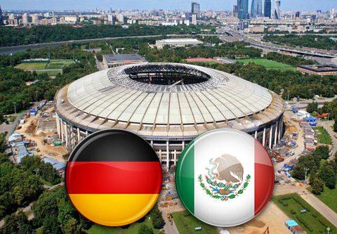 Матч Германия - Мексика