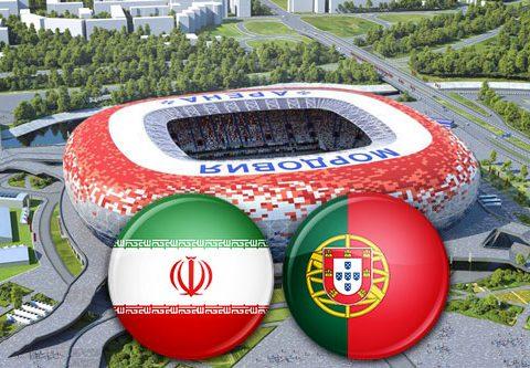 Матч Иран - Португалия