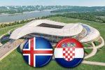 Матч Исландия - Хорватия