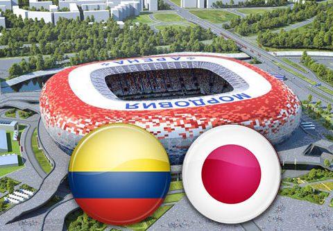Матч Колумбия - Япония