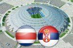 Матч Коста-Рика - Сербия