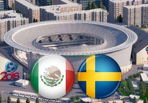 Матч Мексика - Швеция