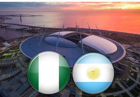 Матч Нигерия - Аргентина