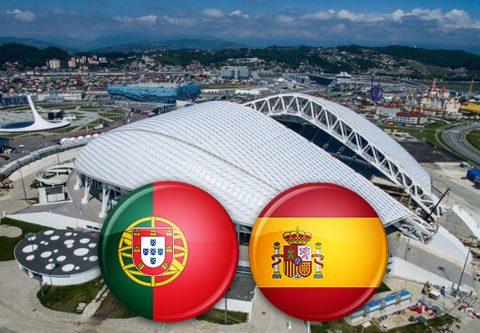 Матч Португалия - Испания