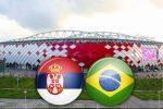 Матч Сербия - Бразилия