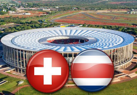Матч Швейцария - Коста-Рика