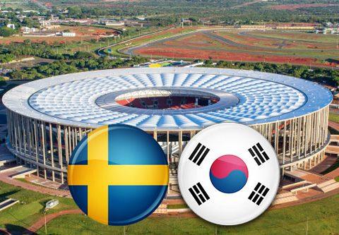 Матч Швеция - Южная Корея