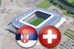 Матч Сербия - Швейцария