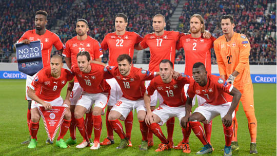 Сборная команда Швейцарии 2018