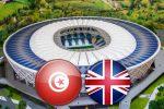 Матч Тунис - Англия