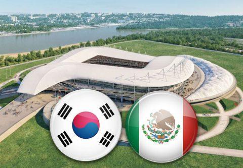 Матч Южная Корея - Мексика