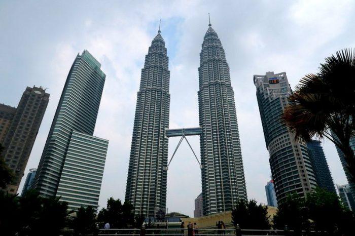 Куала-Лумпур- Башни-близнецы Петронас