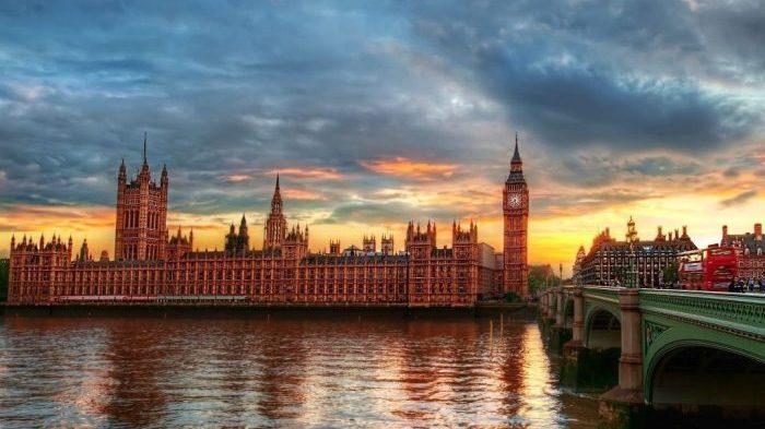Лондон, вид на Биг-Бен