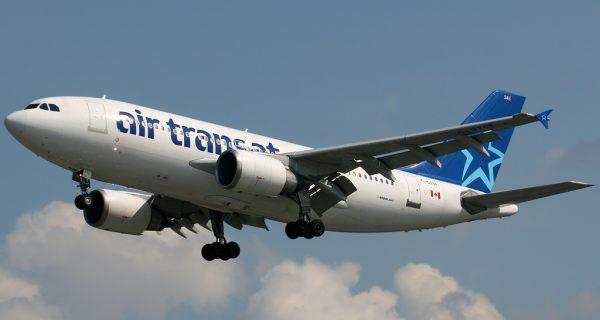 Airbus A310 в воздухе