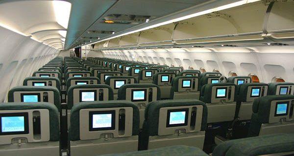 Эконом-класс в Аэробусе A319