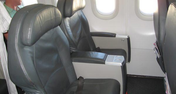 Кресла бизнес-класса в A319