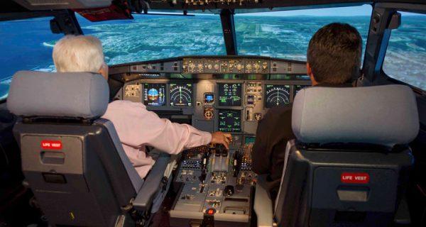 Кабина пилотов Аэробус A320