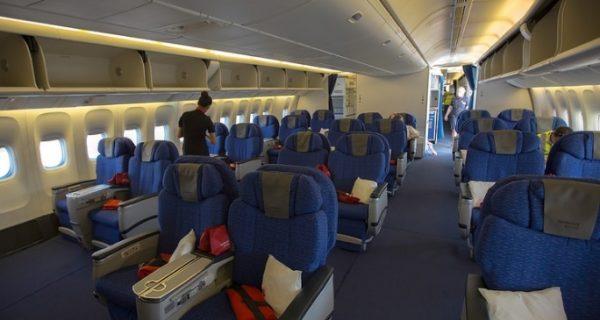 Места бизнес-класса Boeing 777