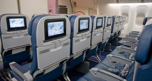 Места эконом-класса Boeing 777